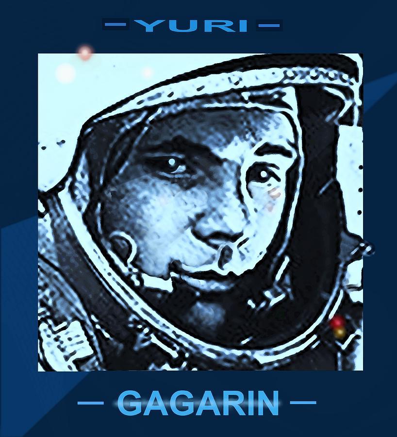 Yuri Gagarin by Hartmut Jager