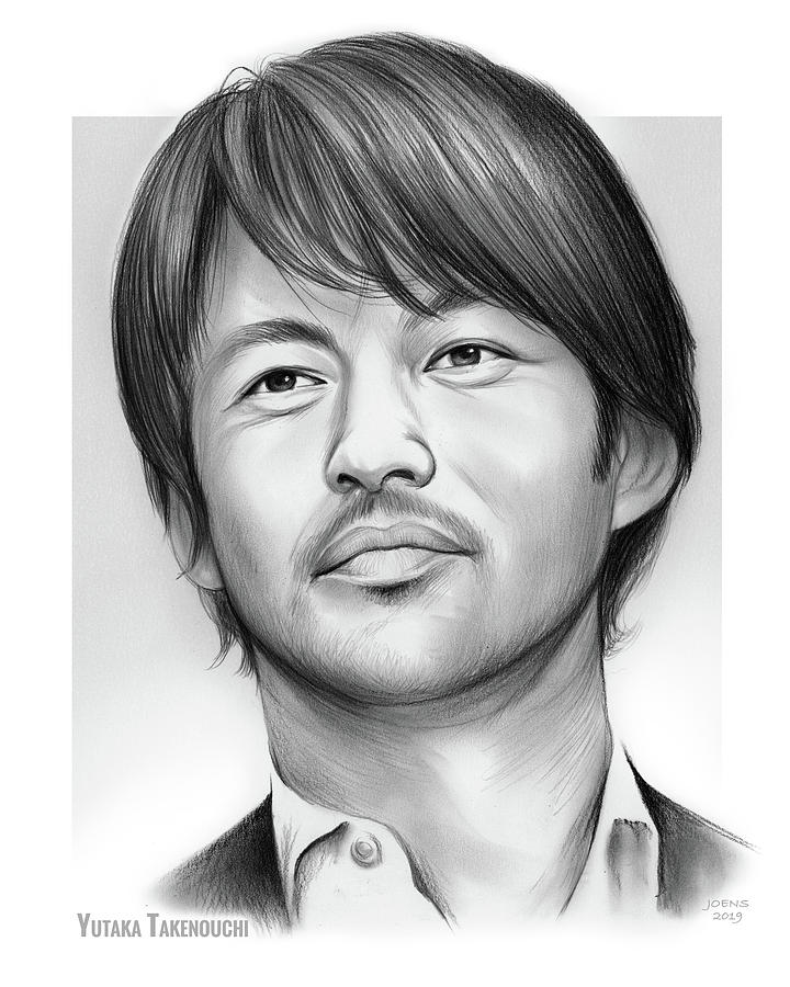 Yutaka Takenouchi Drawing