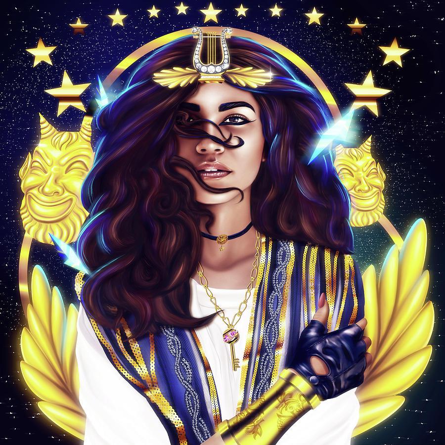 Z Warrior Goddess by Kenal Louis