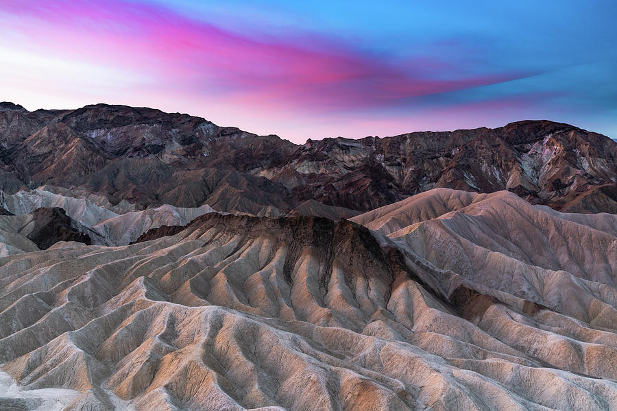 Zabriskie Sunrise by Chuck Jason