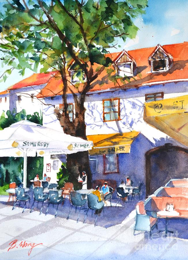 Zagreb Cafe #3 by Betty M M Wong