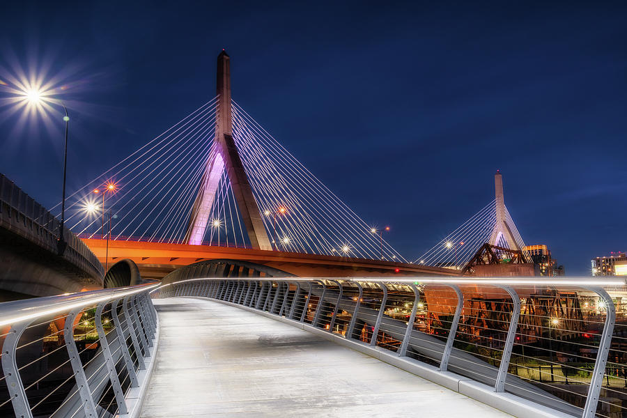 Zakim Walkway by Michael Hubley