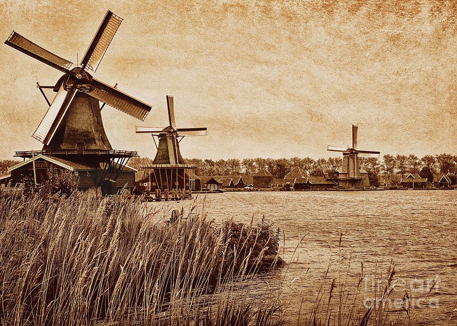 Zansee Schans Landscape Photograph