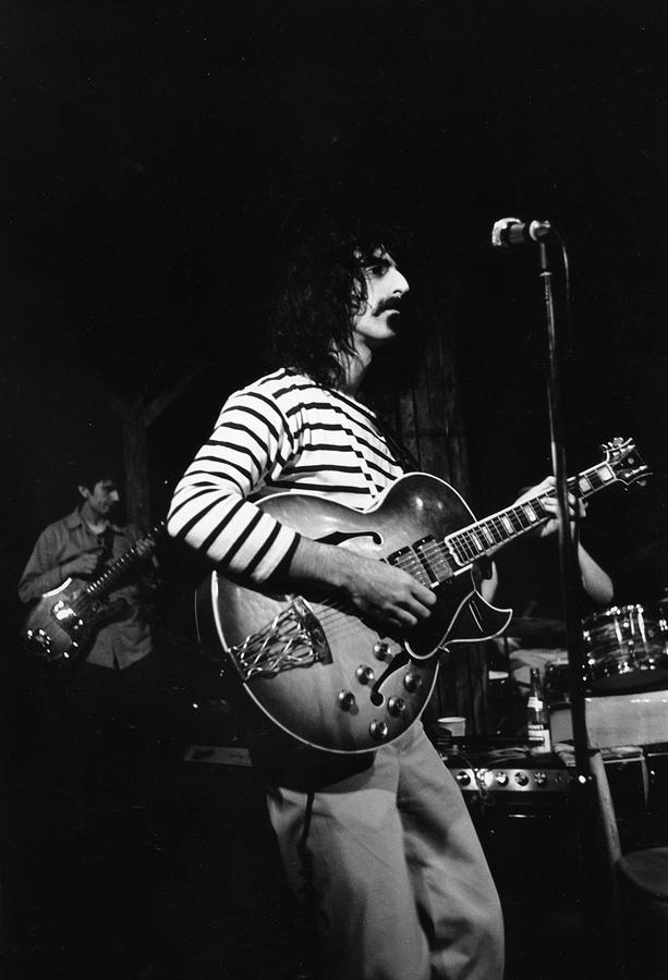 Zappa & The Mothers On Stage Photograph by Fred W. McDarrah