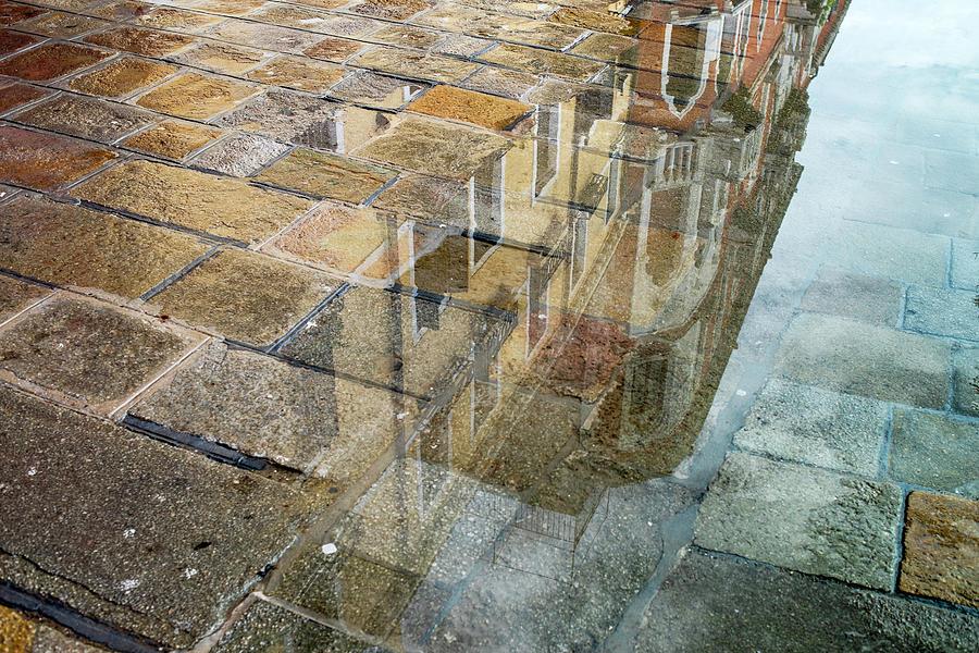Zattere Reflections 5, Venice by Jean Gill