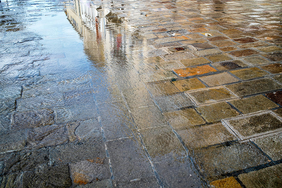 Zattere Reflections, Venice by Jean Gill