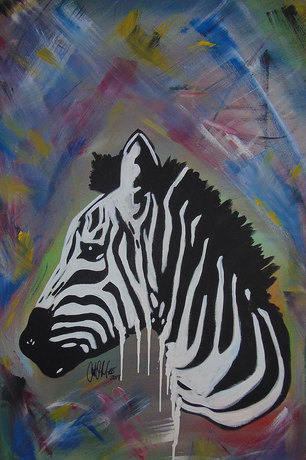 Zebra Drip by Antonio Moore