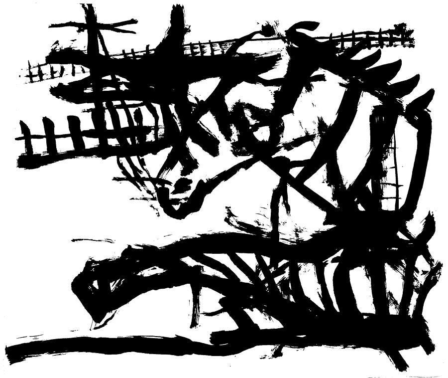 Zebra jumping by Artist Dot