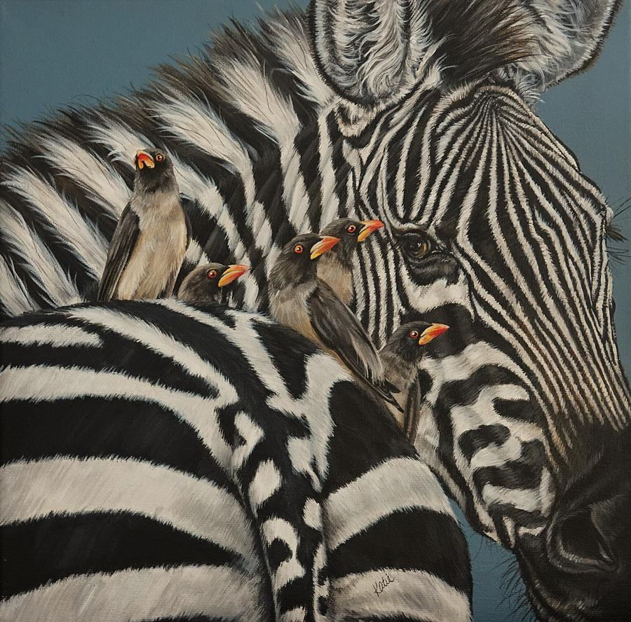 Zebra by Katie McConnachie