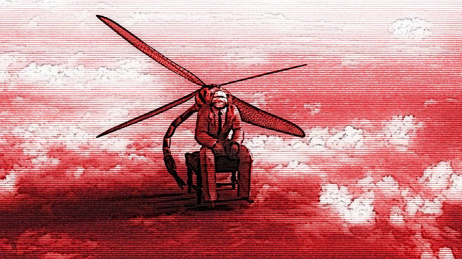 Zeitgeist MMXX #3  Red Tide by Carmen Hathaway