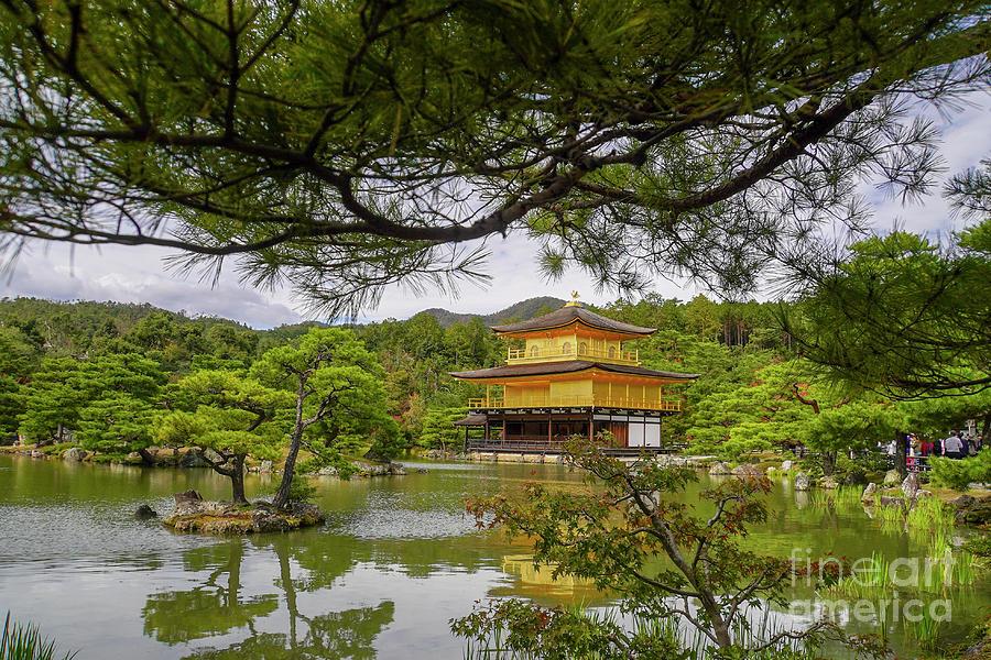 Zen Buddhist Temple Kinkaku-ji G4 by Vladi Alon