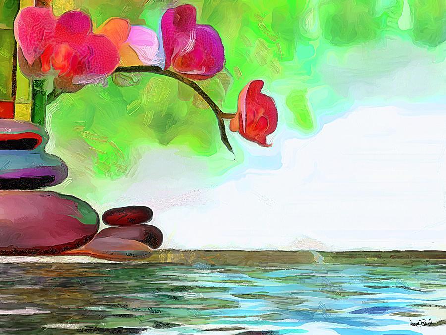 Zen Corner by Wayne Pascall