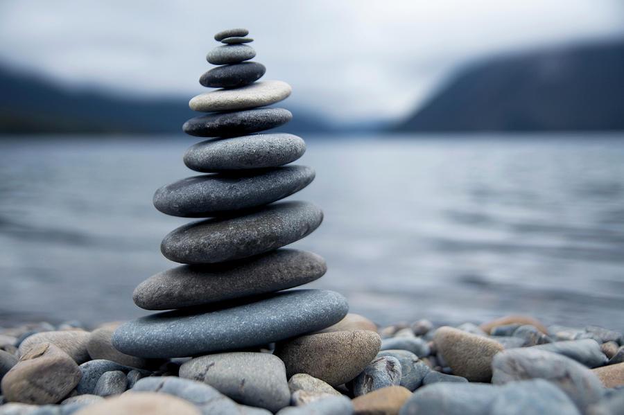 Zen Rocks Photograph by Rawpixel