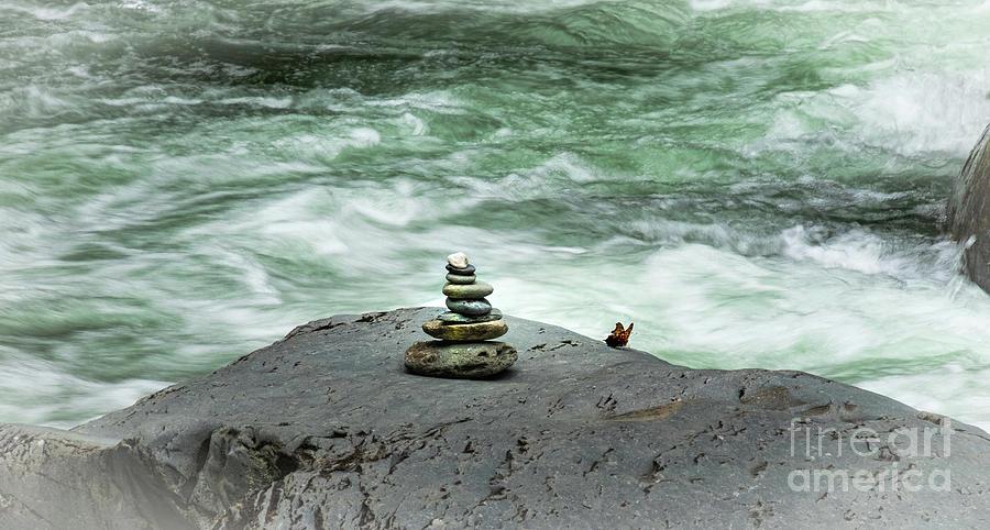 Zen - In the Smoky Mtns.  by Rochelle Sjolseth