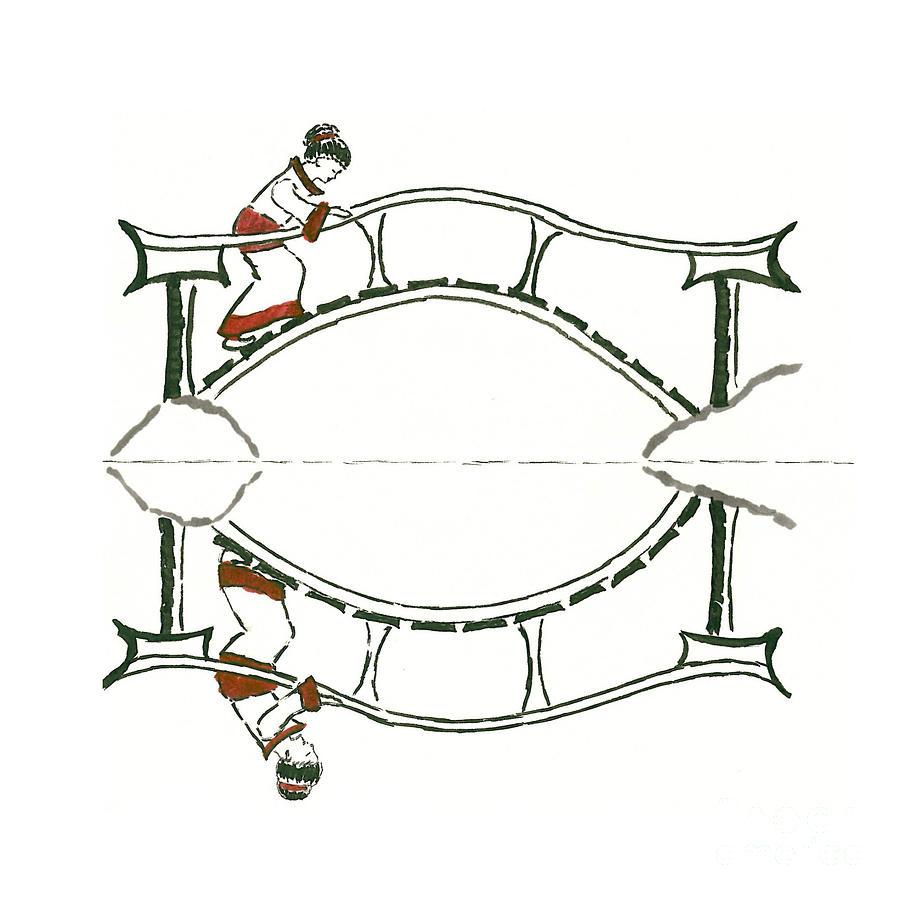 Inspiration Drawing - zen by Petra Heveroch