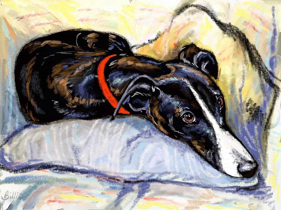 Oil Painting Digital Art - Zephyr by Billie Mann