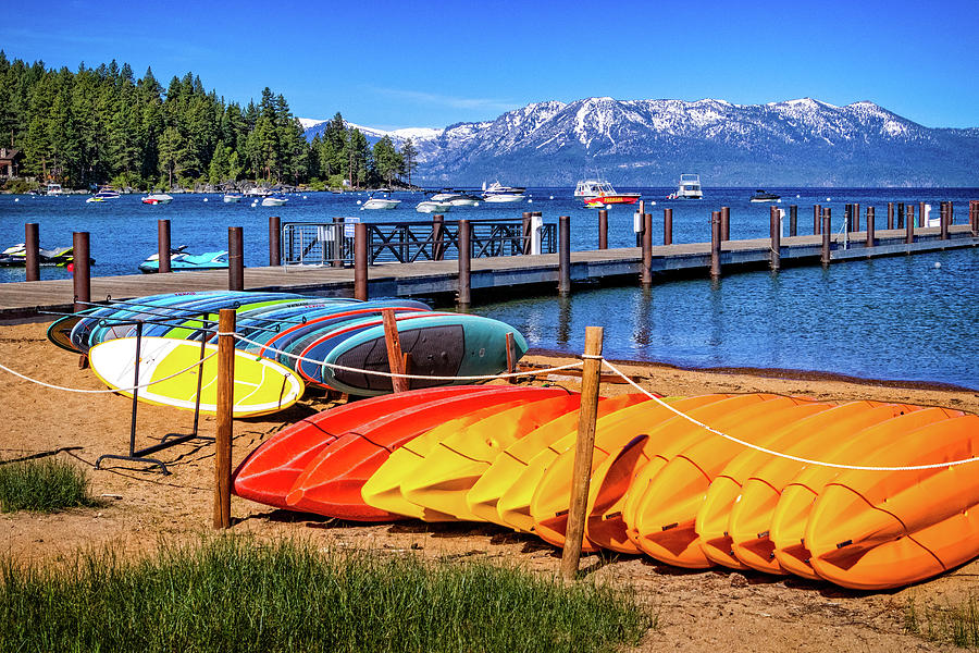 Zephyr Cove at Lake Tahoe by Carolyn Derstine
