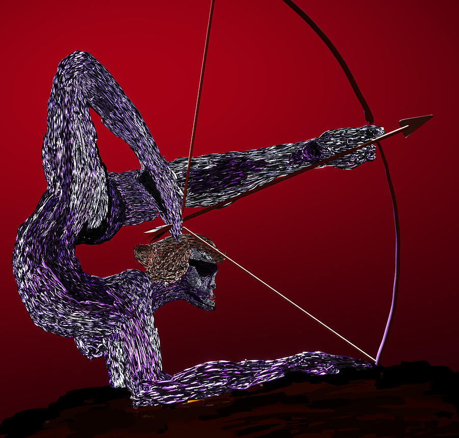 Bow Digital Art - Zephyr by Kevin Branham