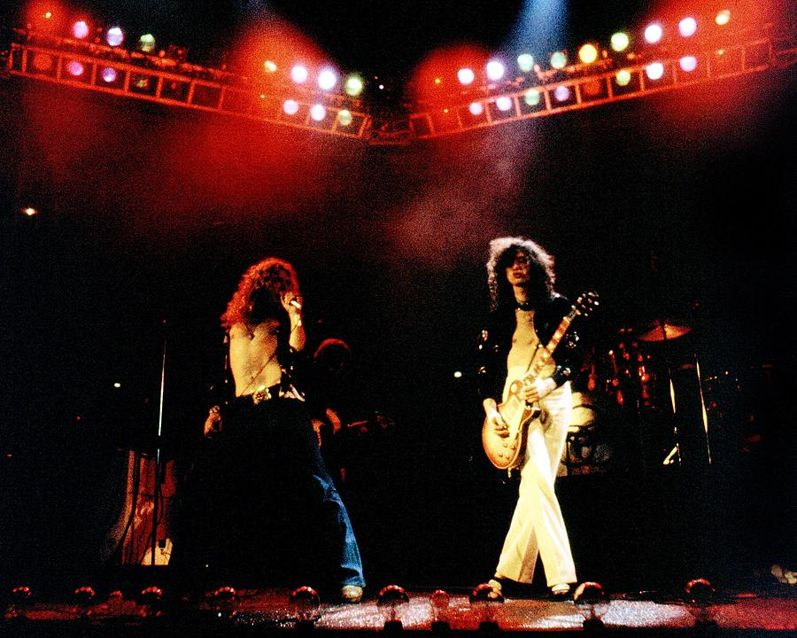 Zeppelin At The Forum Photograph by Larry Hulst