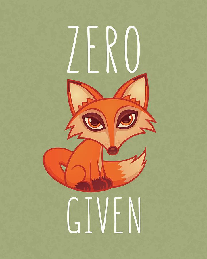 Zero Fox Given Digital Art