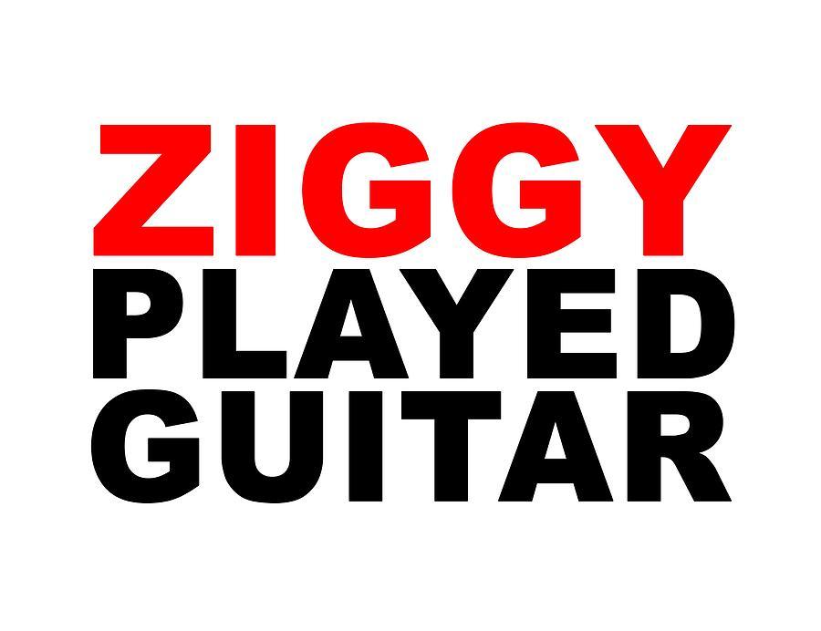 Jimi Hendrix Digital Art - Ziggy Stardust by Art Popop