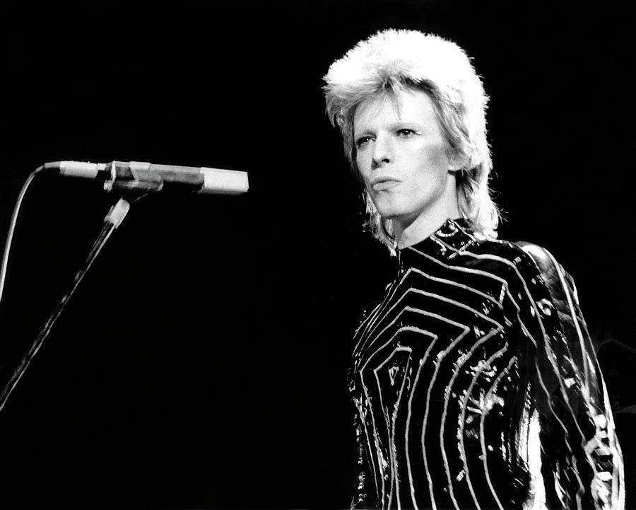 Ziggy Stardust Era Bowie In La Photograph by Michael Ochs Archives