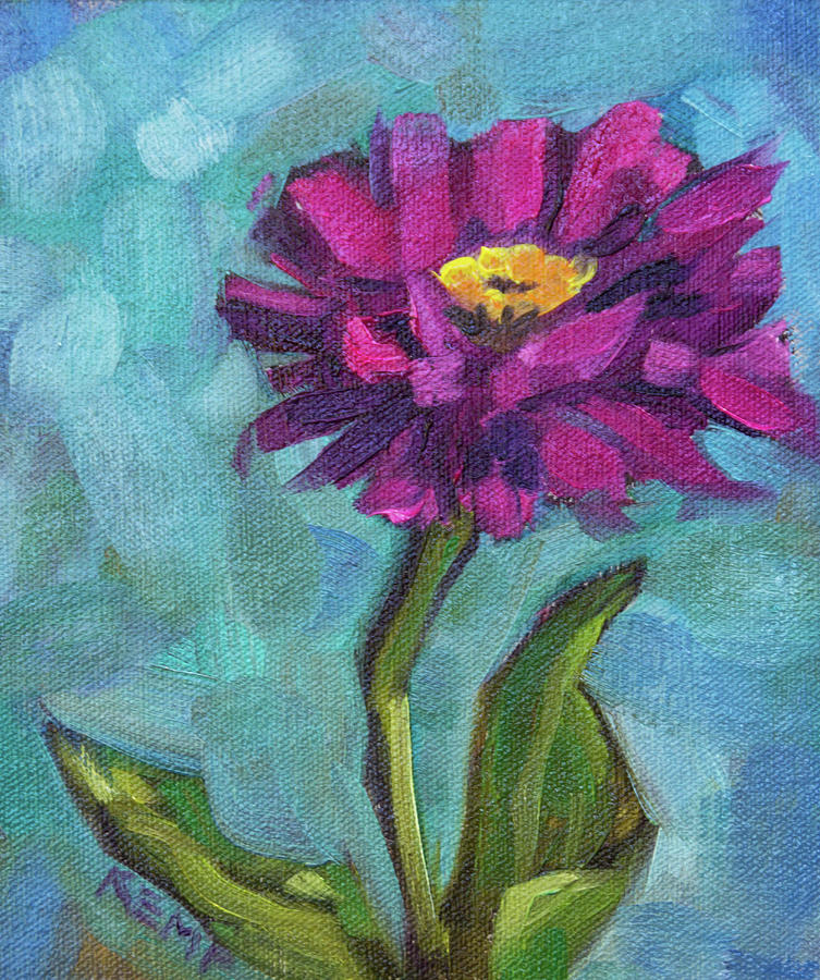 Zinnia Love by Tara D Kemp