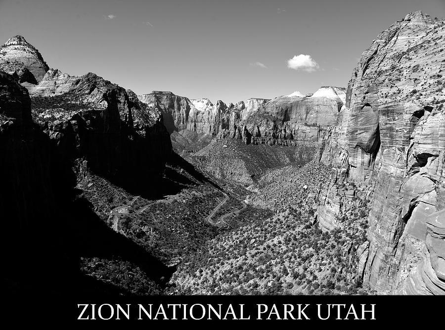 Zion National Park Utah Photograph - Zion Nationa Park Utah by David Lee Thompson