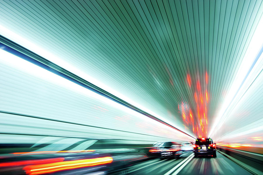 Zipping Through The Holland Tunnel Photograph by Tanja-tiziana, Doublecrossed Photography