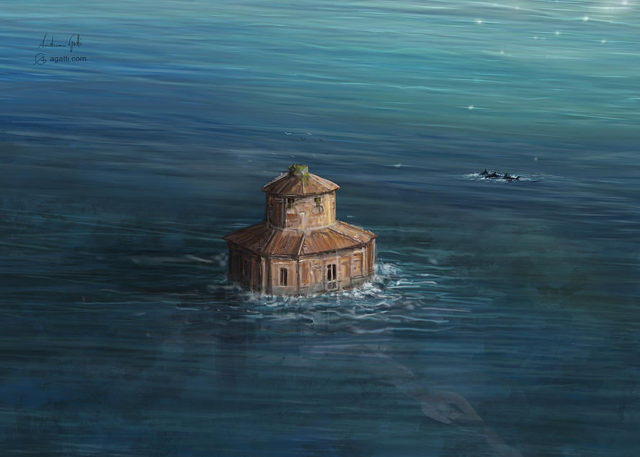Zizzola Sea2 Digital Art