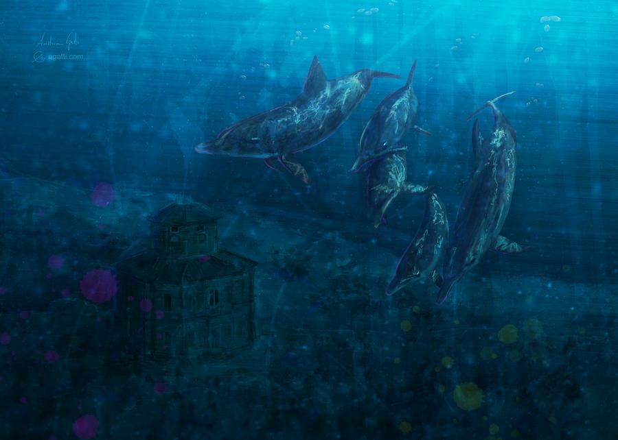 Zizzola Underwater 2009 Digital Art