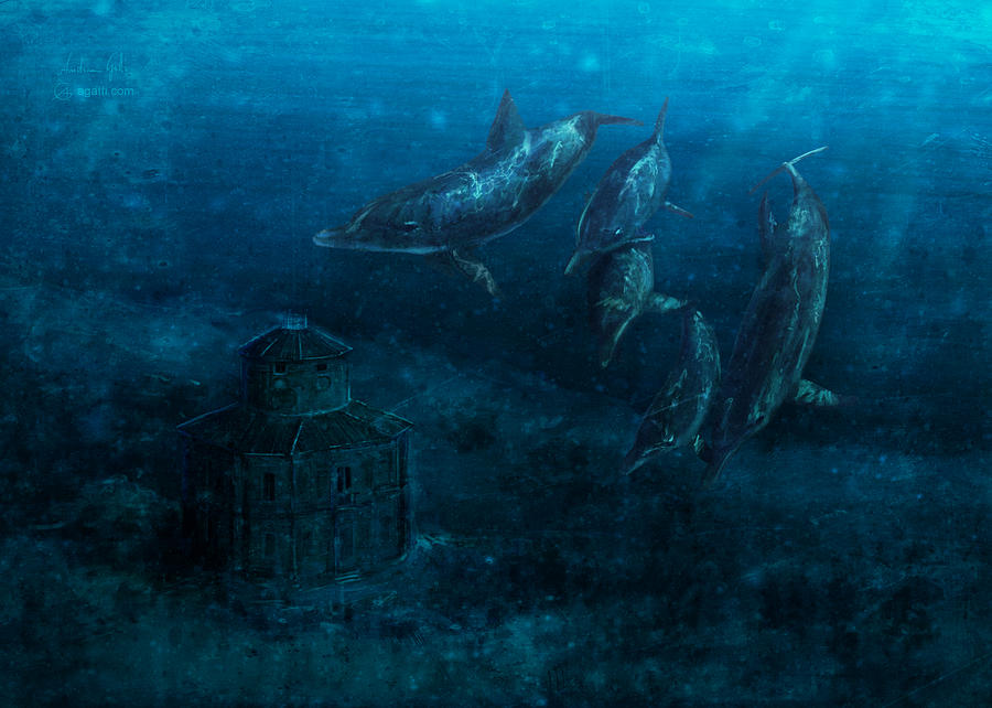 Zizzola Underwater 2019 Digital Art
