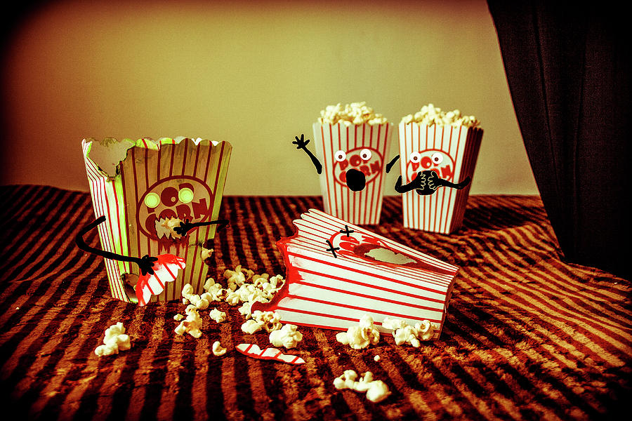 Zombie Popcorn by Traci Asaurus