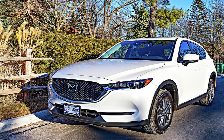 Zoom Zoom - Mazda Cx5 Photograph