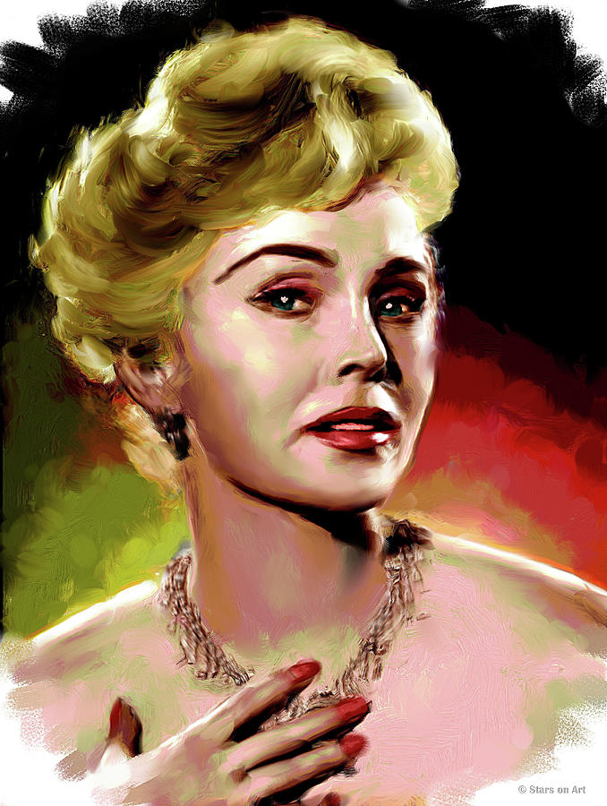 Zsa Zsa Gabor Painting Painting