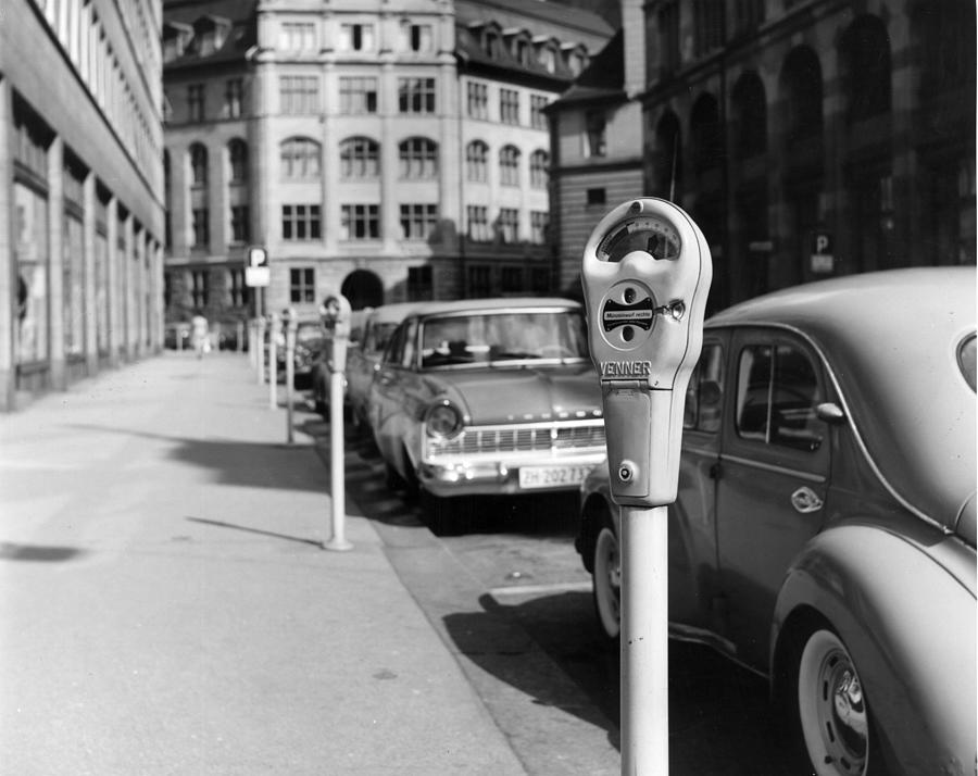 Zurich Meters Photograph by Terry Chambers
