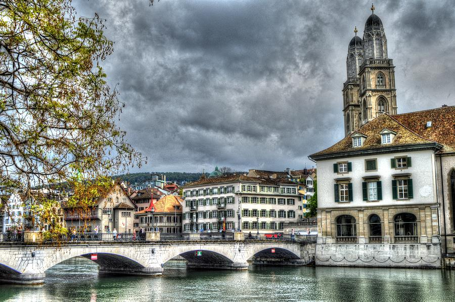 Zurich Switzerland by Bill Hamilton