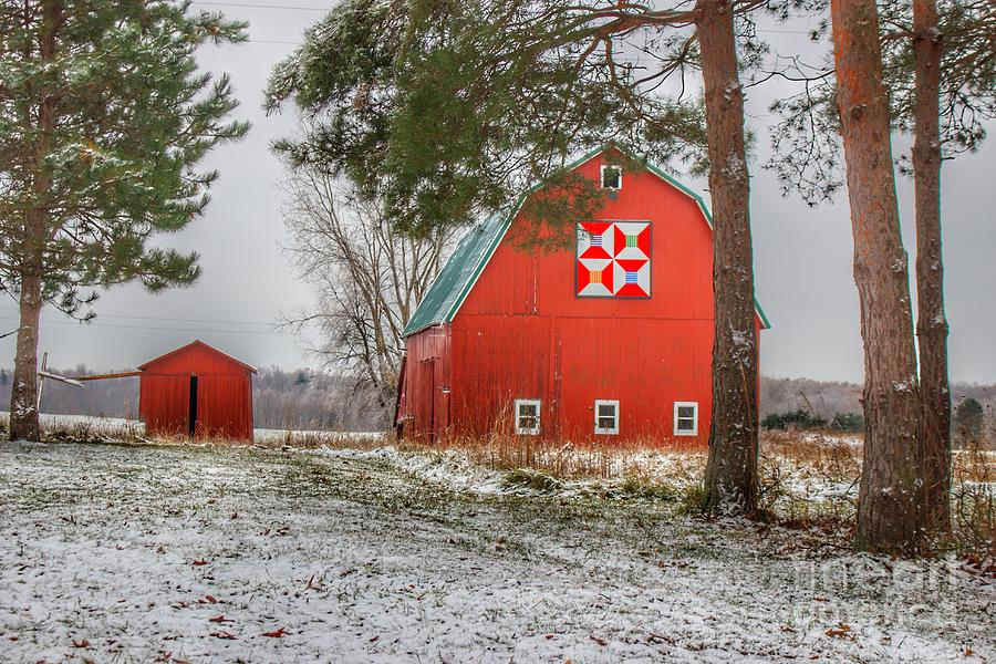 0785 - McKail Road's Quilted Red by Sheryl L Sutter