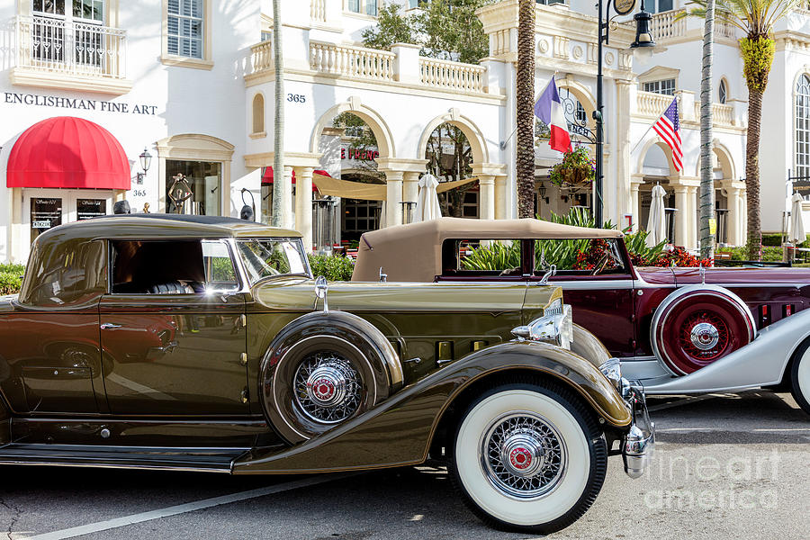 1933 And 1934 Packard Twelve - Classic Cars Photograph