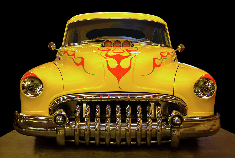 1950 Buick Sedanette Hot Rod Photograph