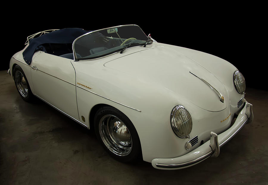 1956 Porsche 356 Speedster Photograph