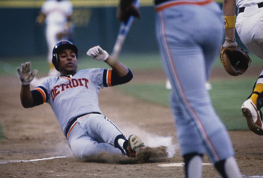 1984 World Series Photograph by Focus On Sport