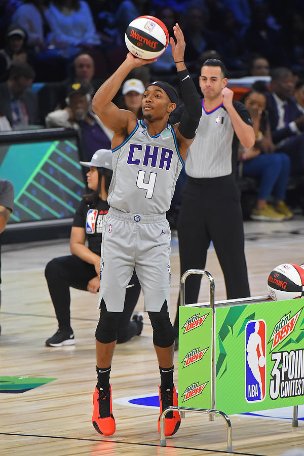 2020 NBA All-Star - MTN DEW 3-Point Contest Photograph by Bill Baptist