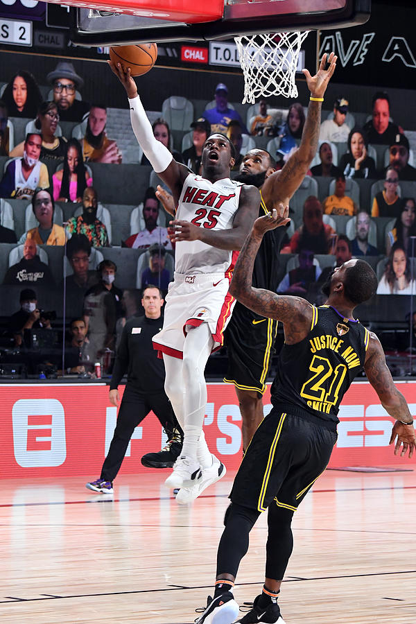 2020 NBA Finals - Miami Heat v Los Angeles Lakers Photograph by Andrew D. Bernstein