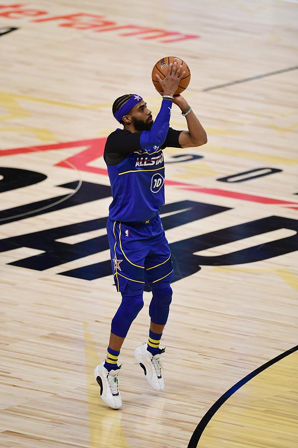 2021 70th NBA All-Star Game Photograph by Adam Hagy