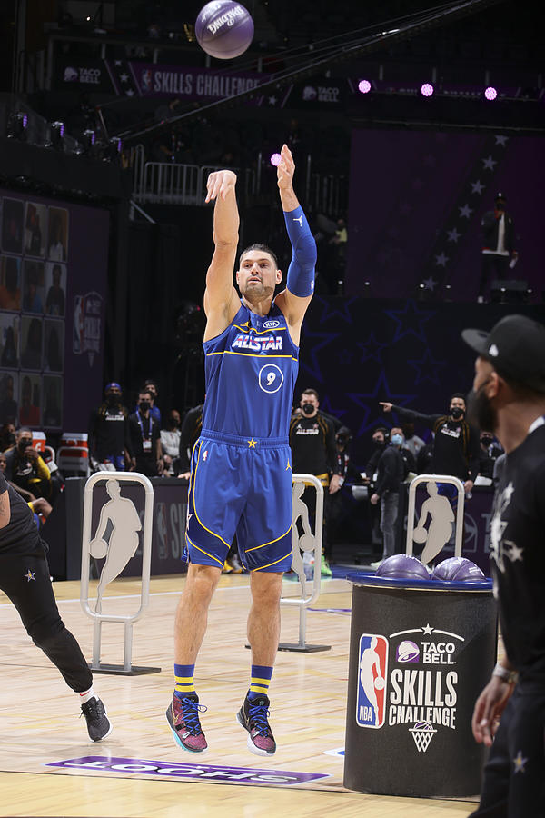 2021 NBA All-Star - Taco Bell Skills Challenge Photograph by Nathaniel S. Butler