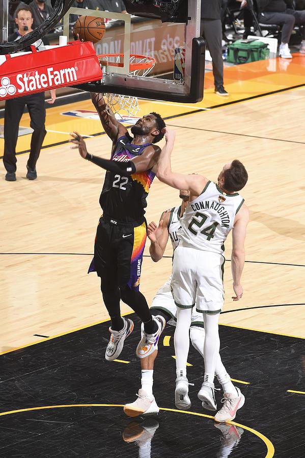 2021 NBA Finals - Milwaukee Bucks v Phoenix Suns Photograph by Andrew D. Bernstein