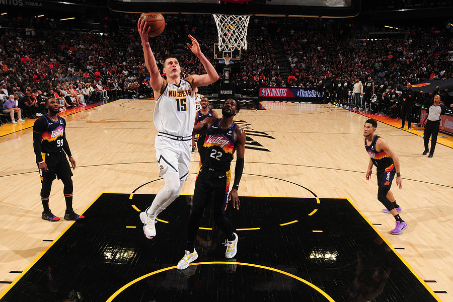 2021 NBA Playoffs - Denver Nuggets v Phoenix Suns Photograph by Barry Gossage