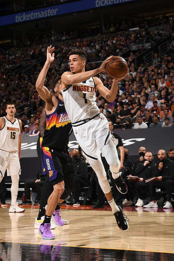 2021 NBA Playoffs - Denver Nuggets v Phoenix Suns Photograph by Garrett Ellwood