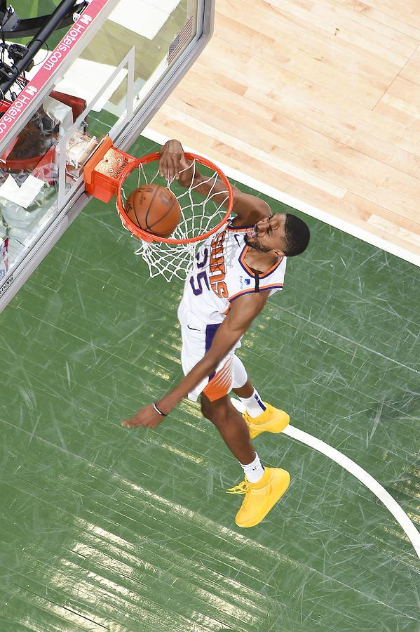2021 NBA Playoffs - Phoenix Suns v Milwaukee Bucks Photograph by Andrew D. Bernstein